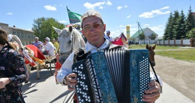 В Камышлинском районе провели старинный обряд, подготовки к Сабантую