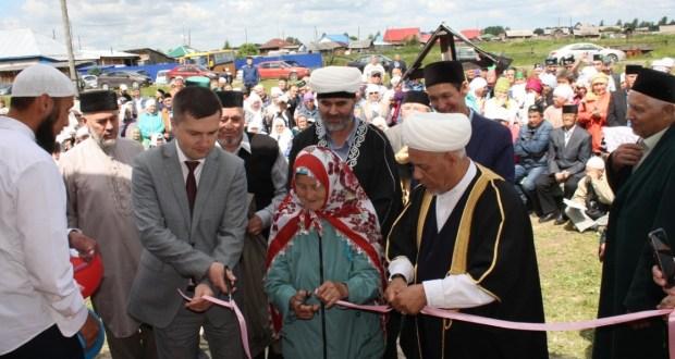 В Тюменской области открылись две мечети