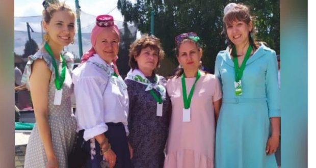 Активистки «Ак калфак Нева» побывала на Тукаевской земле
