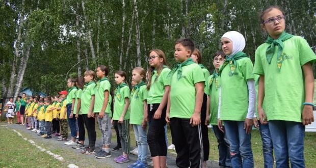 В Челябинской области торжественно прошло закрытие этнокультурной смены «Йолдызлык»