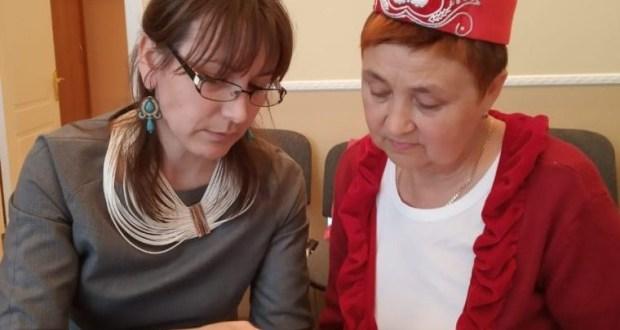 В Санкт-Петербурге прошел мастер-класс по пошиву калфака