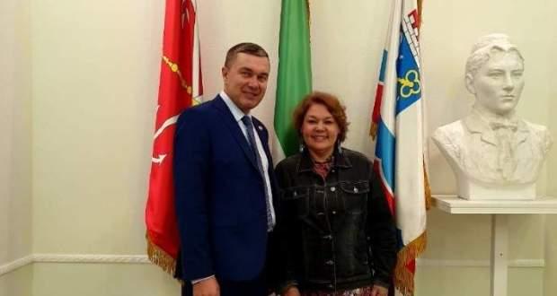 Директор «Татаркино» М. Айтуганова посетила Постоянное представительство РТ в Санкт-Петербурге