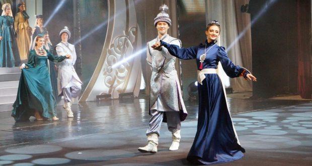 The Tatarstan Representation presented a Letter of Appreciation to the Tuymazinsky Theater