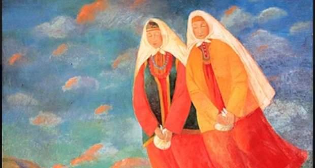 "In St. Petersburg, the exhibition ""SONG OF THE NATIVE LAND"" by artist Ramziya Zinnatova began working"
