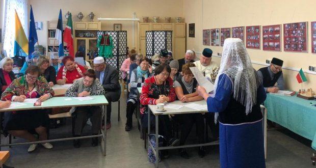 На северо-востоке Эстонии прошёл первый «Татарча диктант»