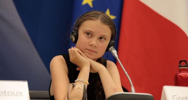 Activists of the TatarTell project voiced in a Tatar speech by Greta Tunberg at the UN