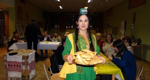 В Бельгии прошел Вечертатарской национальной кухни
