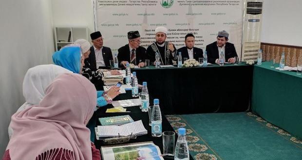 В мечети «Гаиля» прошла конференция «Шэхеслэребез», посвященная Мавлиду и Году толкования Корана
