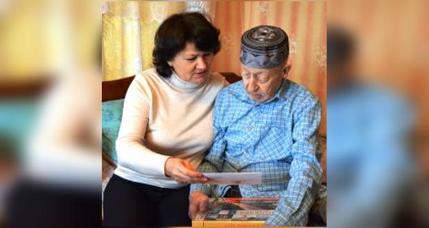 Участнику войны Ахмету Тагирову — 95 лет!