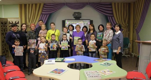 "The Republican Children's Library of Tatarstan held a literary holiday ""Kitaply Gailә – bәkhetle gailә"