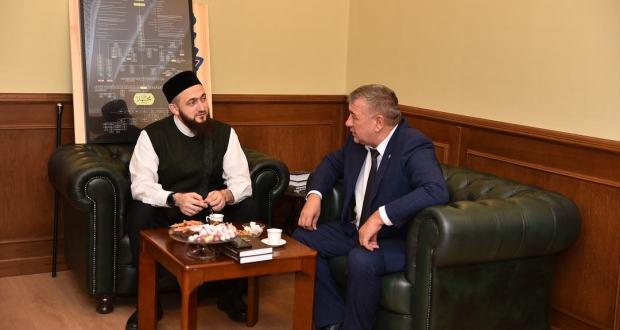 Муфтий РТ обсудил с главой Спасского района планы по дальнейшему развитию Древнего Болгара