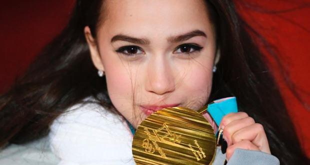 "Alina Zagitova became a ""People's Sports Girl"" according to the ""Soviet Sport"" award"