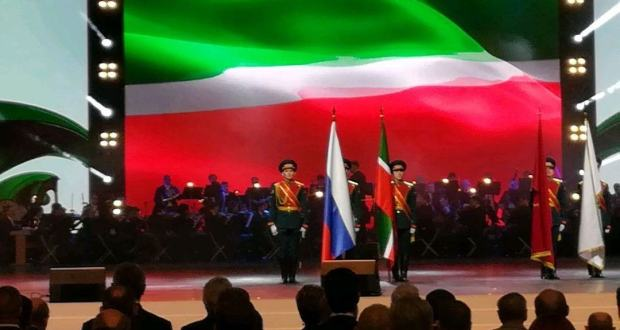 New state awards and historical show: the year of the 100th anniversary of the TASSR was opened in Kazan