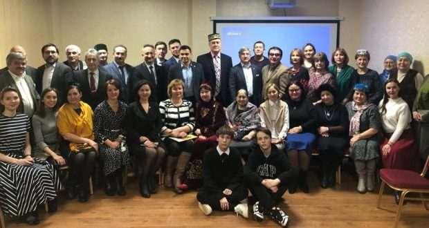 Vasil Shaikhraziev attended a meeting of the Maryam Sultanova Discussion Club in Ufa