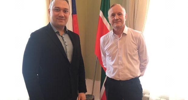 Постоянный представитель Республики Татарстан по Уральскому региону встретился с исполнительным директором Конгресса татар Челябинской области