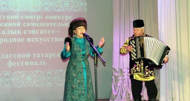 Төмән татарлары «Халык сәнгате» бәйгесендә чыгыш ясады