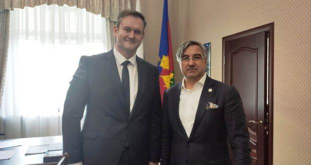 Василь Шайхразиев встретился с Вице-губернатором Краснодарского края