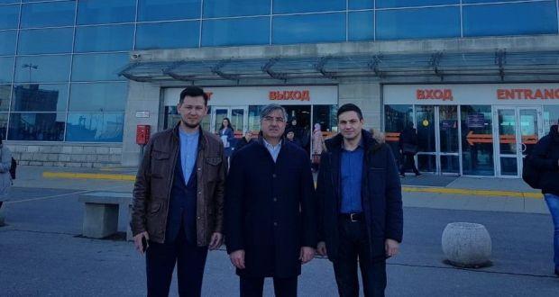 Василь Шайхразиев прибыл в Уфу с рабочим визитом