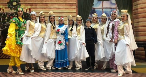 """In Surgut, a concert of the Tatar culture collective """"Sandugach"""" held"""