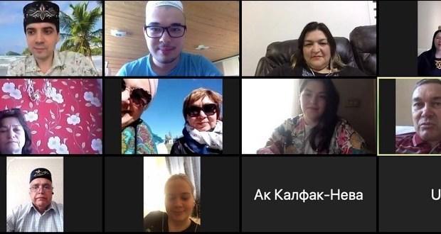 Видео-конференциядә Санкт-Петербург татарлары порталының үсеше турында сөйләштеләр