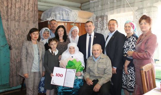 В Мамадышском районе живет ровесница ТАССР