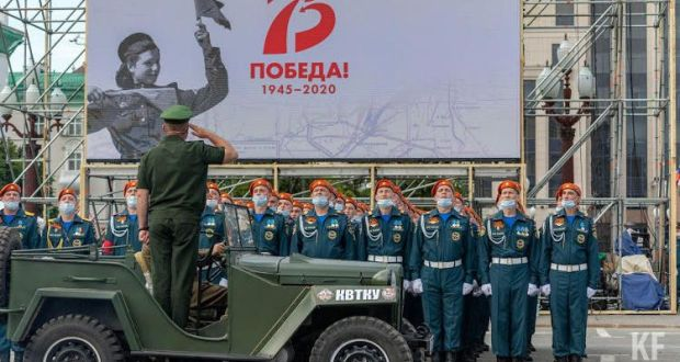 Victory parade takes place in Kazan