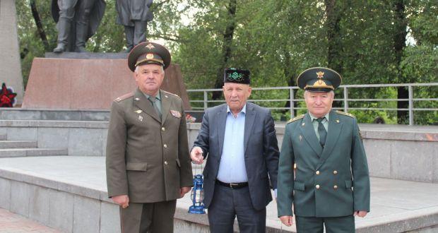 РТНКА Красноярского края «ЯР» зажгла Огонь памяти
