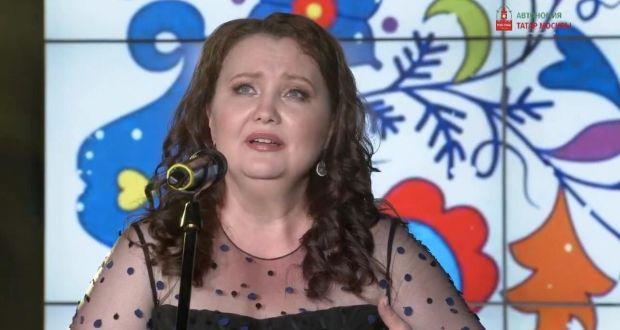 Всемирно известная оперная певица выступила на «Московском онлайн-Сабантуе»