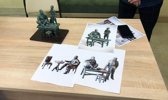 Bronze sculptures of characters from the play by Tufan Minnullin will appear in Nizhnekamsk