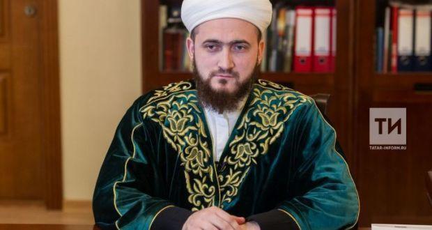 Татарстан мөфтие: «Президентның ниятләре тормышка ашсын, дип догада булырга кирәк»