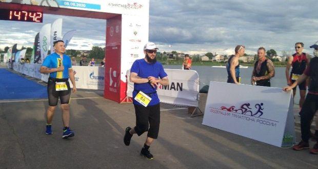 Муфтий Татарстана принял участие в Альметьевском триатлоне