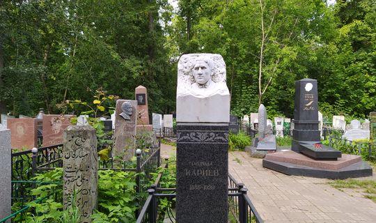 Комитет Гущина начал работы по благоустройству могил Кашкина и Кариева