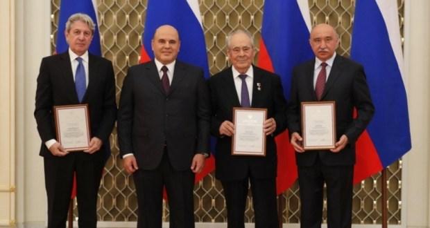Минтимеру Шаймиеву вручена премия Правительства России в области культуры
