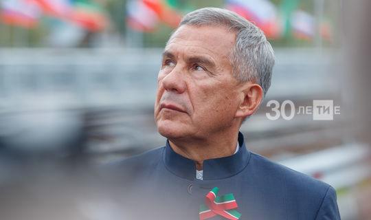 Рустам Минниханов вступил в должность Президента Татарстана