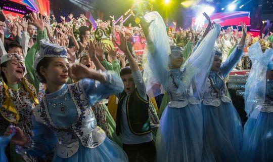 Гран-при «Созвездия-Йолдызлык» получили вокалисты из Казани и танцоры из Мамадыша