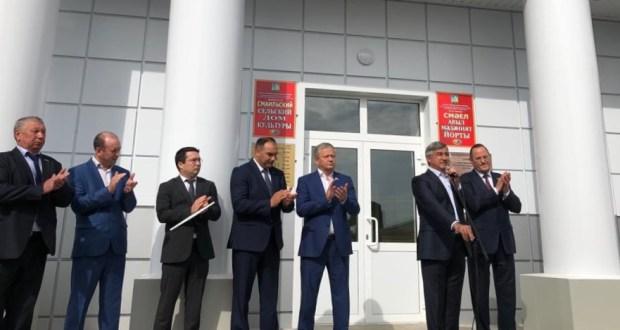 Васил Шәйхразыев Балтач районына сәфәр кылды