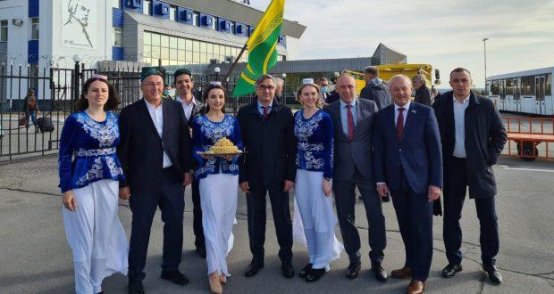 Василь Шайхразиев находится с рабочим визитом в Пензенской области
