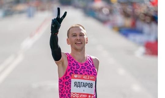Уроженец Татарстана занял второе место на Московском марафоне