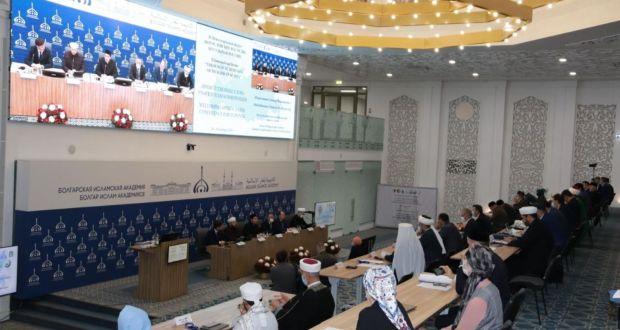 Ренат Валиуллин выступил на II Международном форуме «Богословское наследие мусульман России»