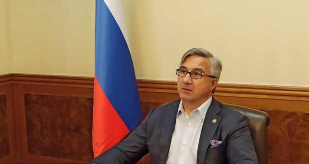 Vasil Shaikhraziev arrives on a working visit to the Kurgan region