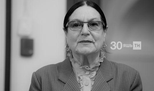 Татарстанның халык артисты, күренекле педагог Венера Гәрәева вафат