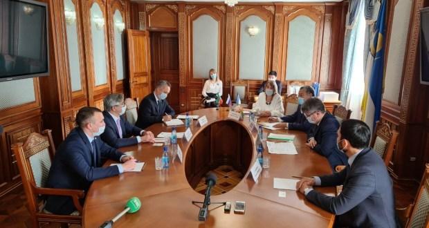 Василь Шайхразиев встретился с Главой Республики Бурятия