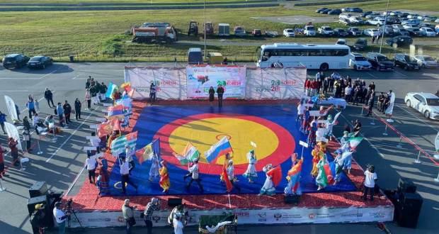 В Казани прошел Чемпионат мира по поясной борьбе корэш