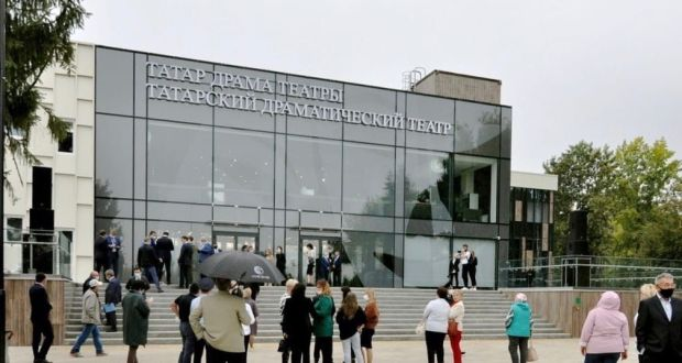 Tatarstan residents are invited to a tour of the new building of the Naberezhnye Chelny Tatar Theater named after Ayaz Gilyazov