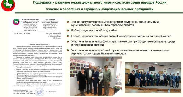 РНКАТ Нижегородской области запустило проект создания «Аллеи славы нижегородских татар на ТАТАРСКОЙ АЛЛЕЕ»