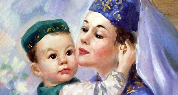 Kurgan Tatars hold an action dedicated to mothers