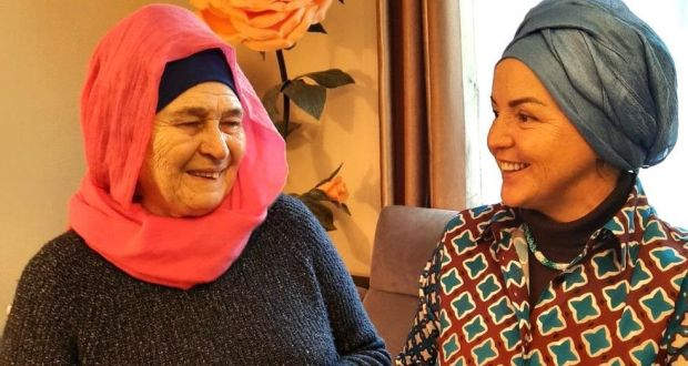 A resident of Brussels Roza Khanym Abazova received an award from her historical homeland