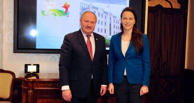 Полпредство Татарстана посетила ректор Российского социального университета