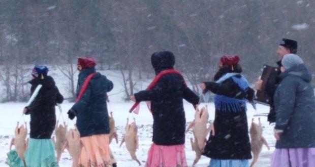 В д. Тюрюшево Буздякского района Республики Башкортостан прошел праздник «Каз өмәсе»