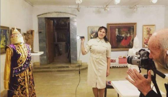 На выставке «Любимый Татарстан-2020» был представлен костюм царицы Сююмбике